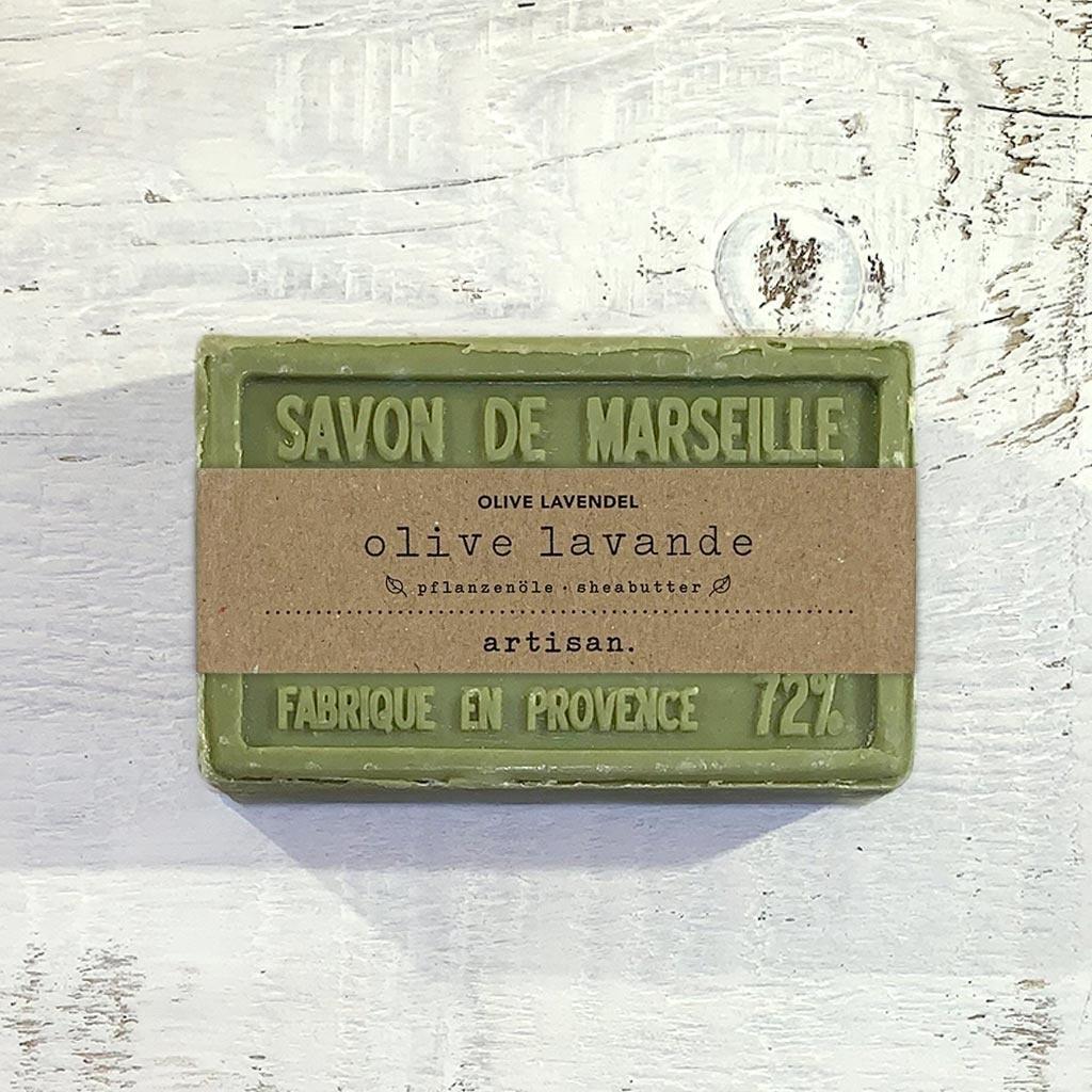 "Naturseife ""Olive-Lavendel"" 100 g, Savon de Marseille Seife ""Olive-Lavende"""