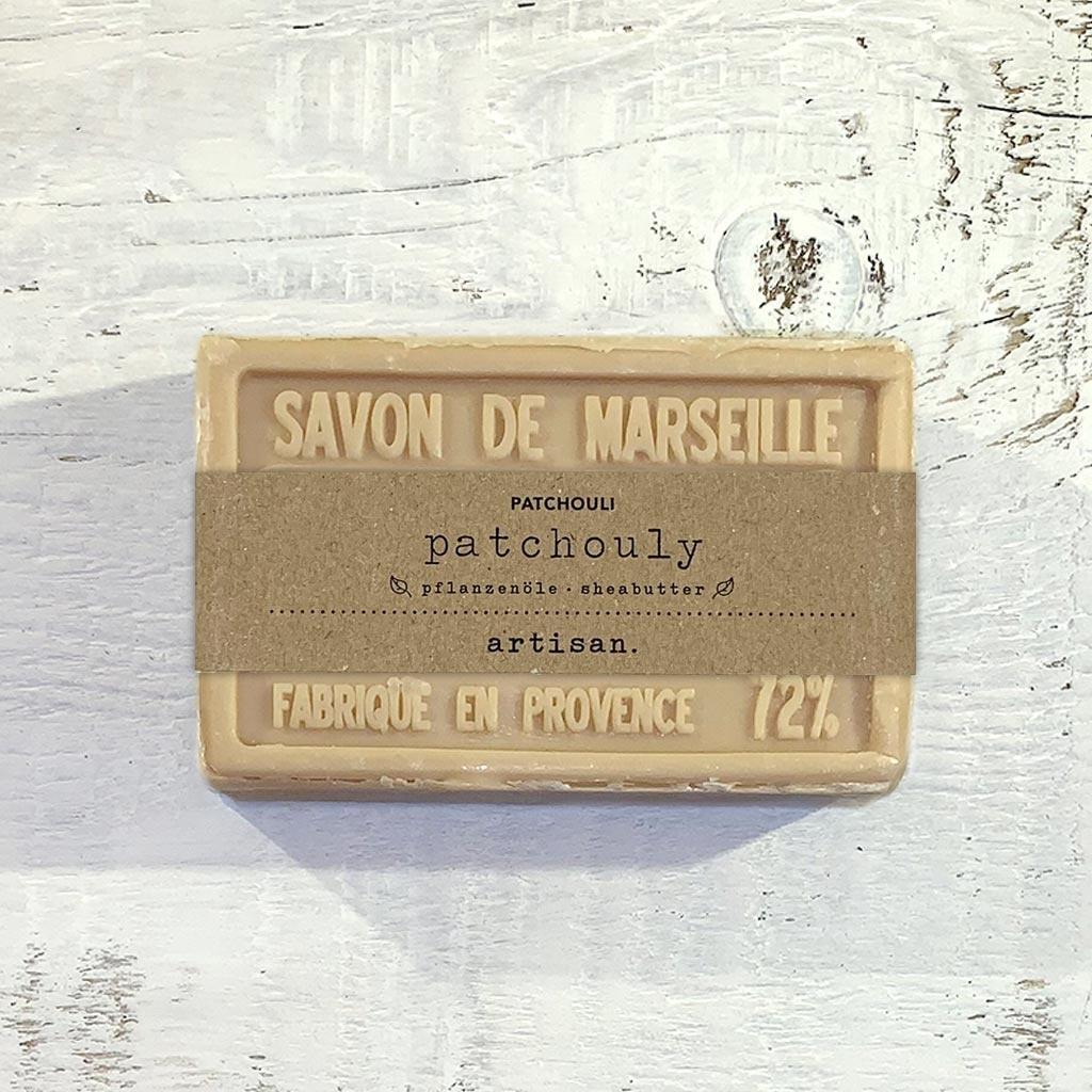 "Seife ""Patchouly "" 100 g, Savon de Marseille ""Patchouly"""