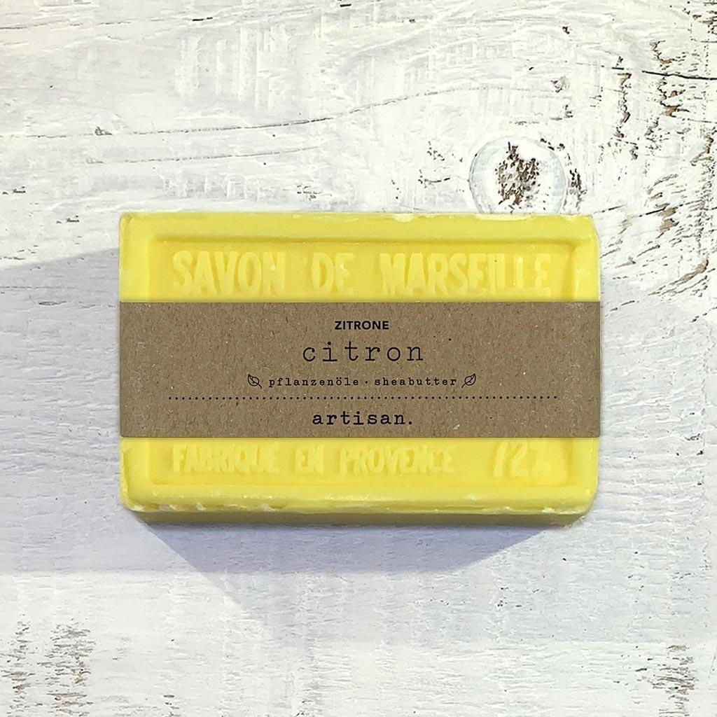 "Naturseife ""Zitrone"" 100 g, Savon de Marseille Seife ""Citron"""