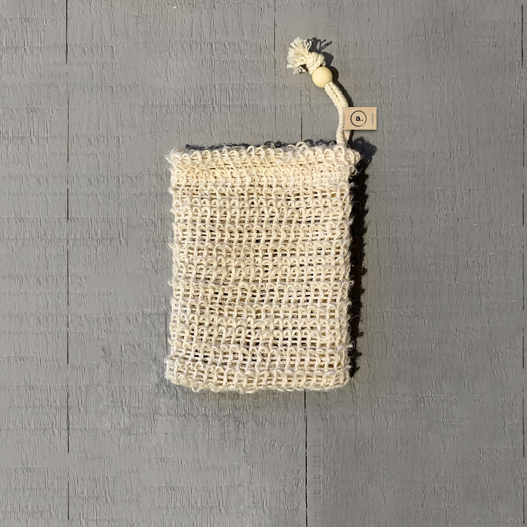 Seifensäcken aus 100% Sisal