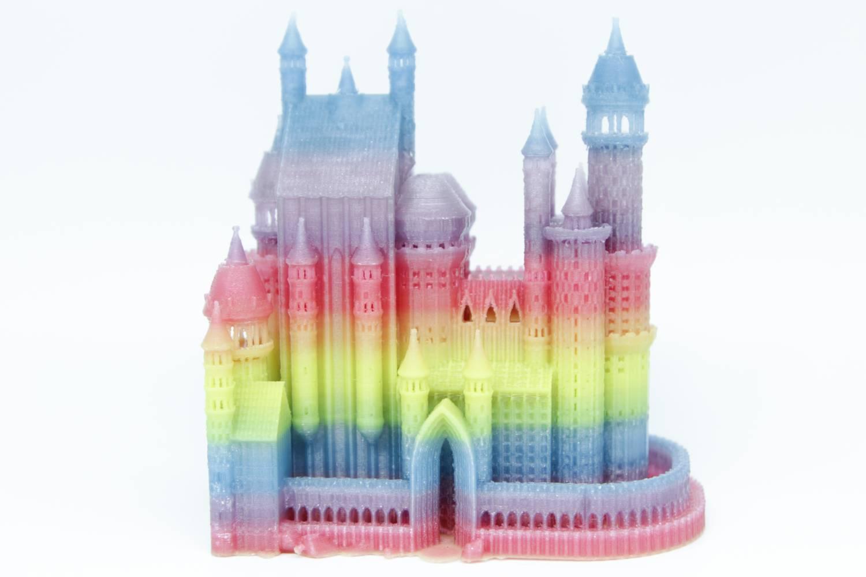 Burg Regenbogen softfarbig