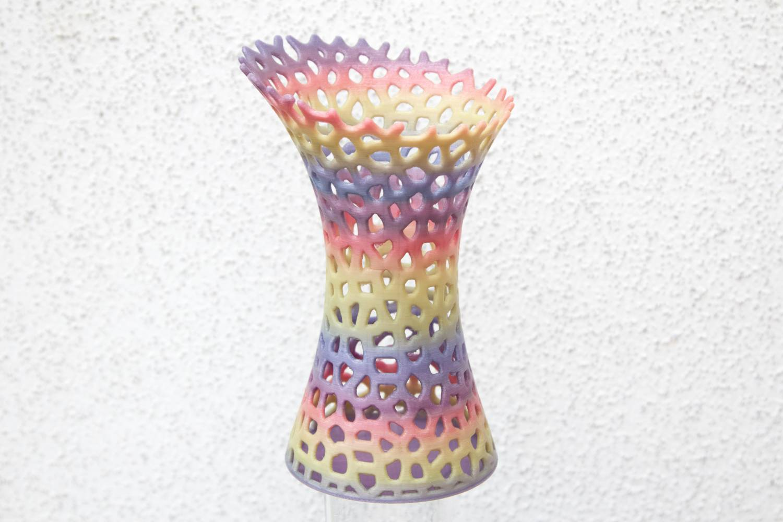 Vase 2 rainbow pastel