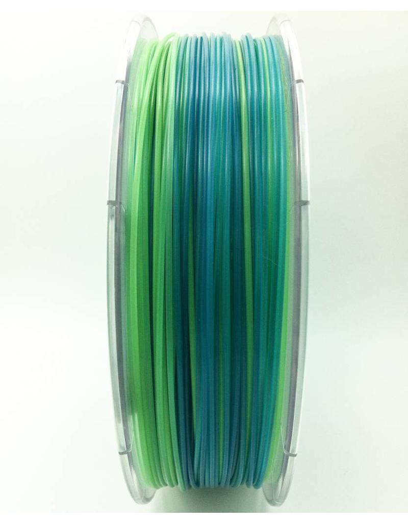 Blau-Hellgrün