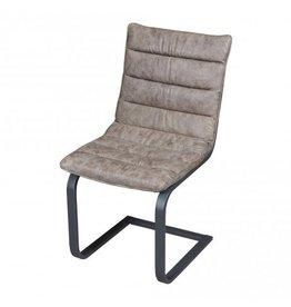 PTMD Stuhl Franky Kunstleder schwarz oder taupe