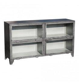PTMD Einfaches metallgraues Sideboard