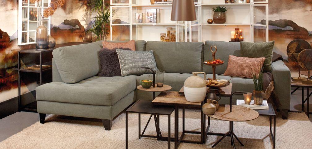 Lifestyle Rome Lounge sofa groen