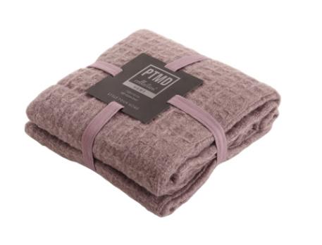 PTMD Plaid Mitz pink wool