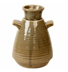 Dome Deco Vase Ceramic with handle