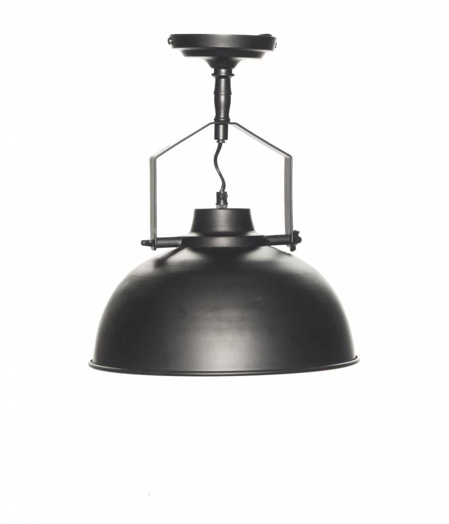 Urban Interiors STOCK SALE Wandlamp vintage black Ø30CM