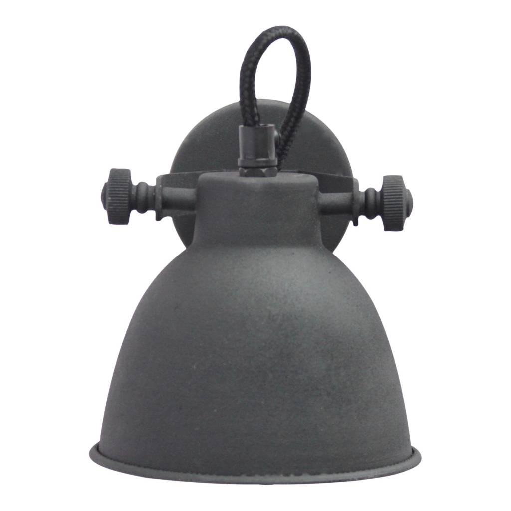 Urban Interiors STOCK SALE Wall lamp industrial vintage black