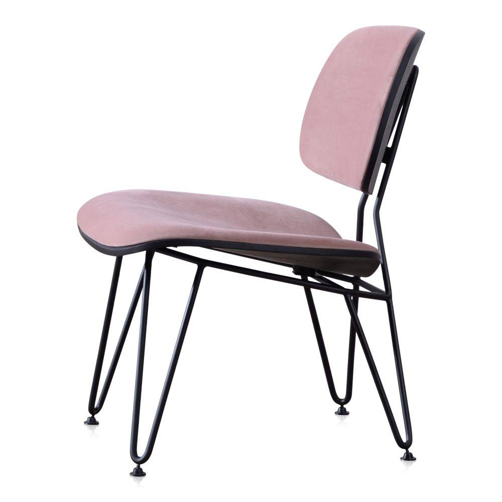 Pracht Label Lounge Sessel Elin rosa