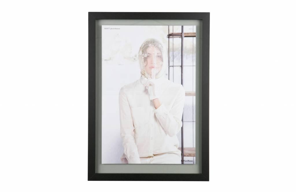 BePureHome Shift fotolijst met houten rand