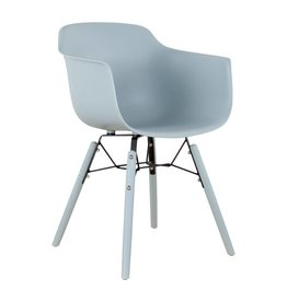 Pracht Label Ole dining room chair with arm ice