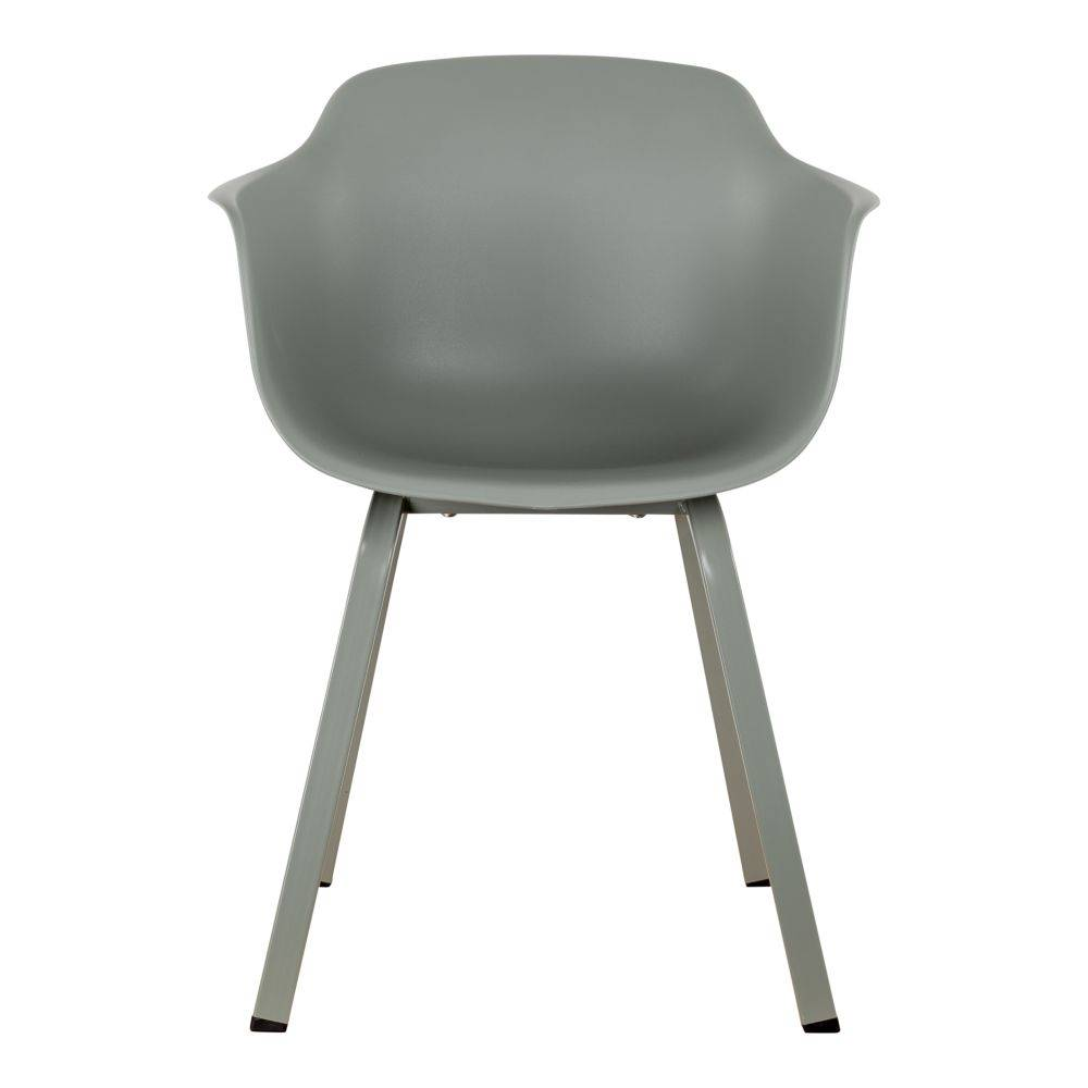 Pracht Label Dining chair Tess moss gray with arm