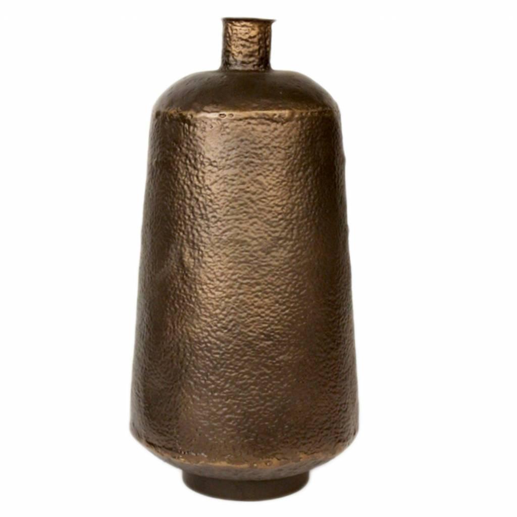 Dome Deco Eisen-Bronze-Vase