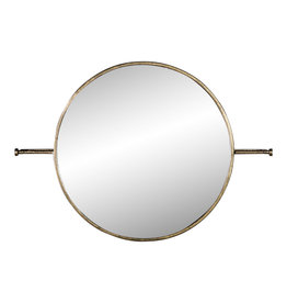 PTMD Crespo brass metal simple mirror