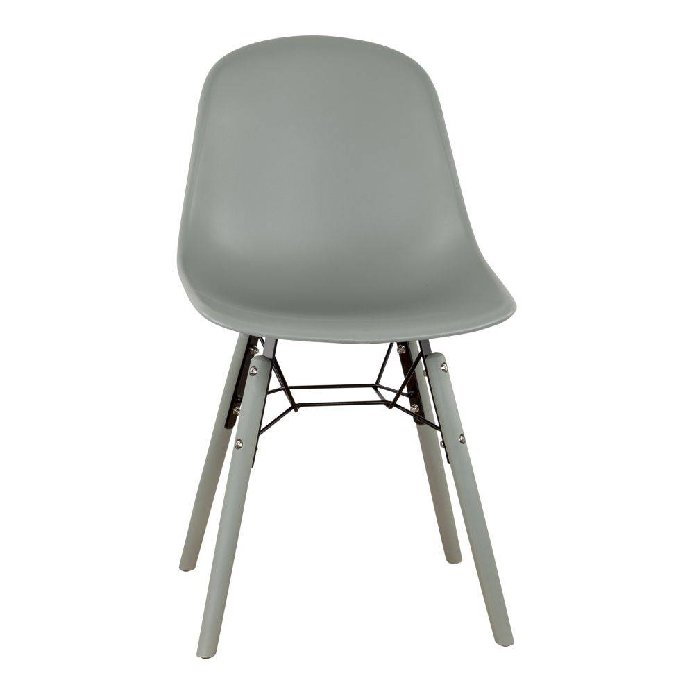 Pracht Label Ole dining room chair moss gray stock