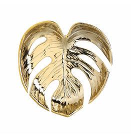 &Klevering Bowl leaf gold S