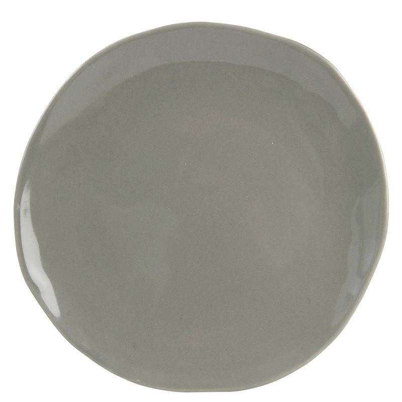 &Klevering Plate imperfect grey L