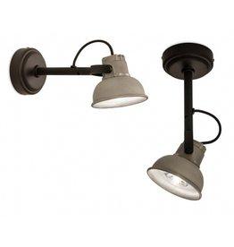 Frezoli Wandlamp Mazz (aluminium of zwart)