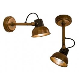Frezoli Wall lamp Mazz copper stock