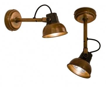 Frezoli Wall lamp Mazz copper stock