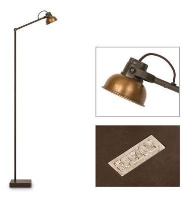 Frezoli Vloerlamp Mazz koper