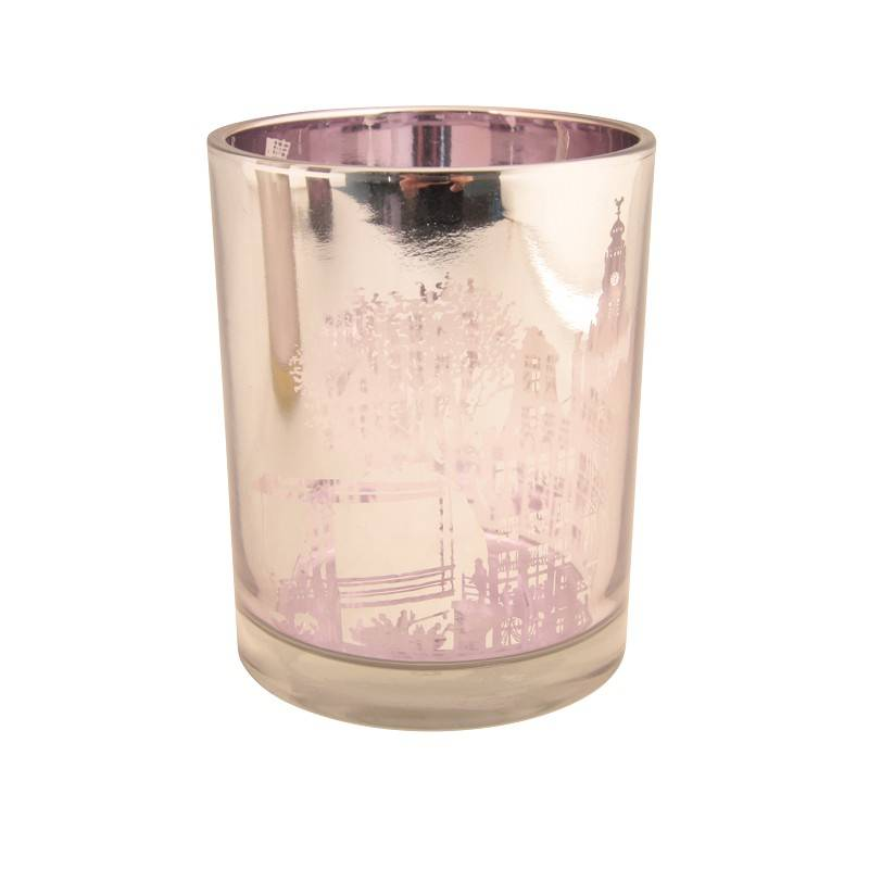 &Klevering Teelicht Amsterdam Silber