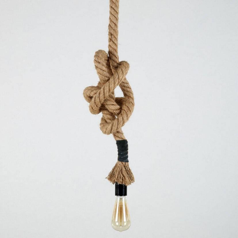 Pracht Label Seil hängende Lampe 2meter