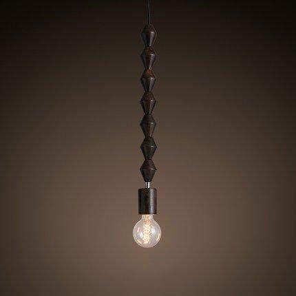 Pracht Label Kralendijk hanging lamp beads lamp dark