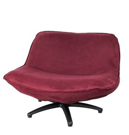 Lifestyle Forli fauteuil wine red