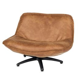 Lifestyle Forli armchair brown black legs