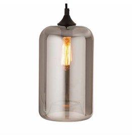 Bahne Hanglamp silver glass Ø11CM