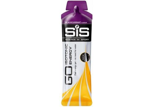 SiS SiS GO  Isotonic Energiegel Zwarte bes