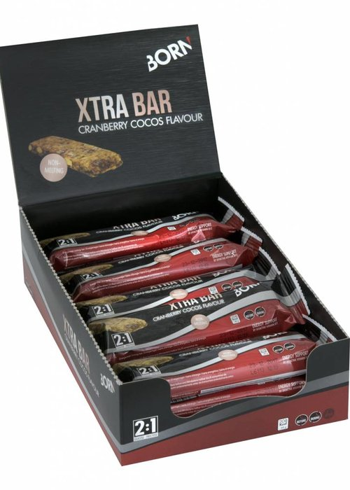 BORN Xtra Bar Cranberry Cocos