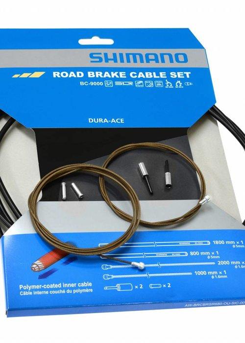 Shimano Kabelset rem race - polymeer