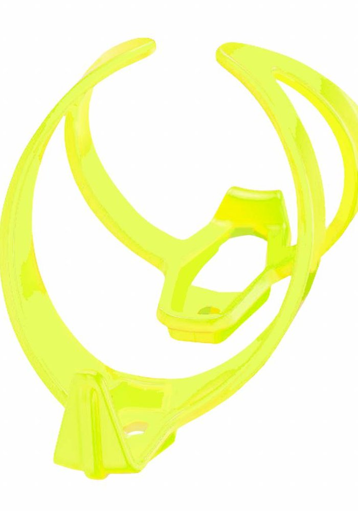 Fly Cage Poly Neon geel bidonhouder