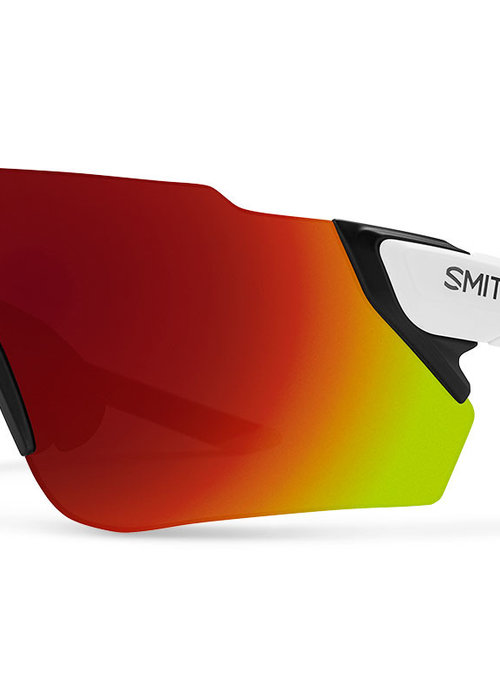 SMITH Attack Max Mat White Chroma red