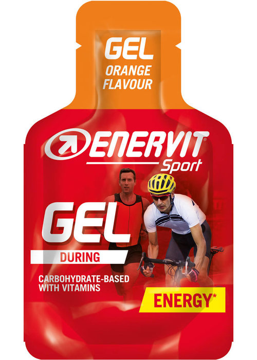 Enervit GEL ORANGE 24X25ML (ENERGY GEL)
