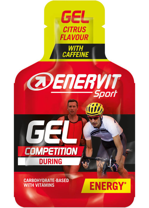 Enervit Gel Citrus with caffeine 24X25ml (Energy gel)