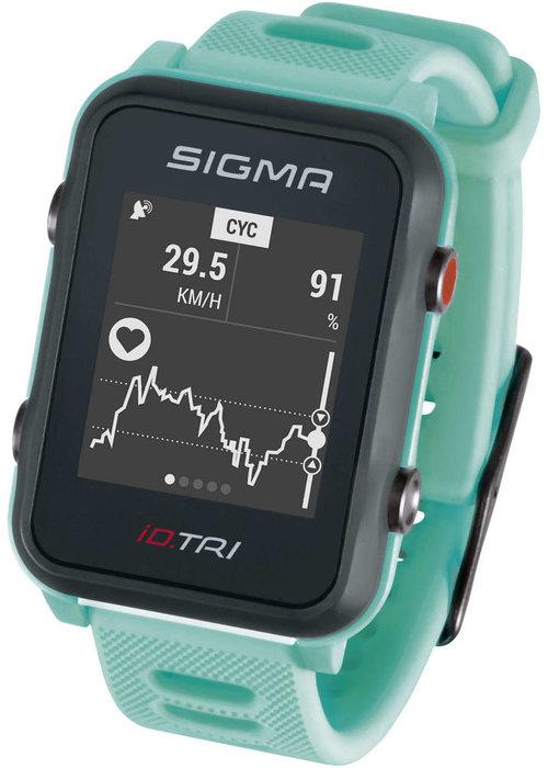 Sigma iD.TRI sporthorloge - mint