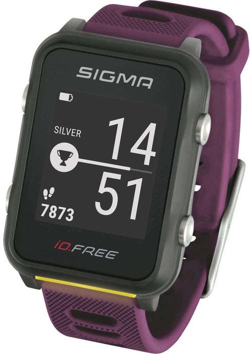 Sigma id.Free sporthorloge - paars