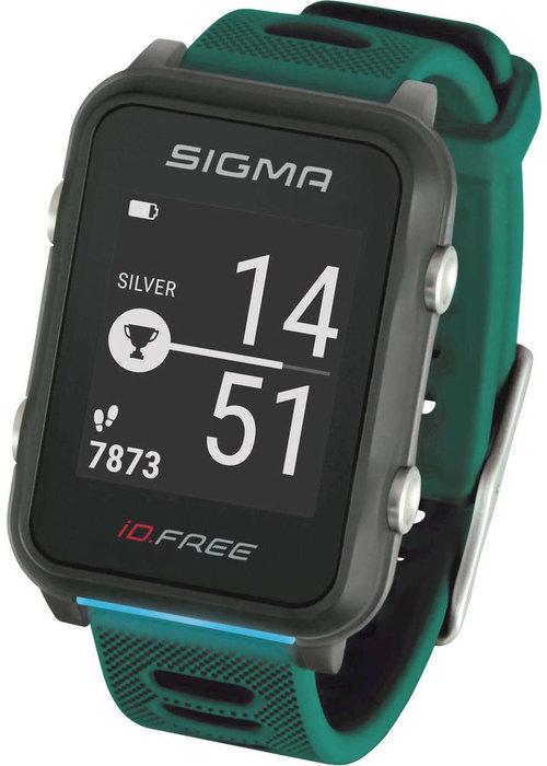 Sigma id.Free sporthorloge - groen