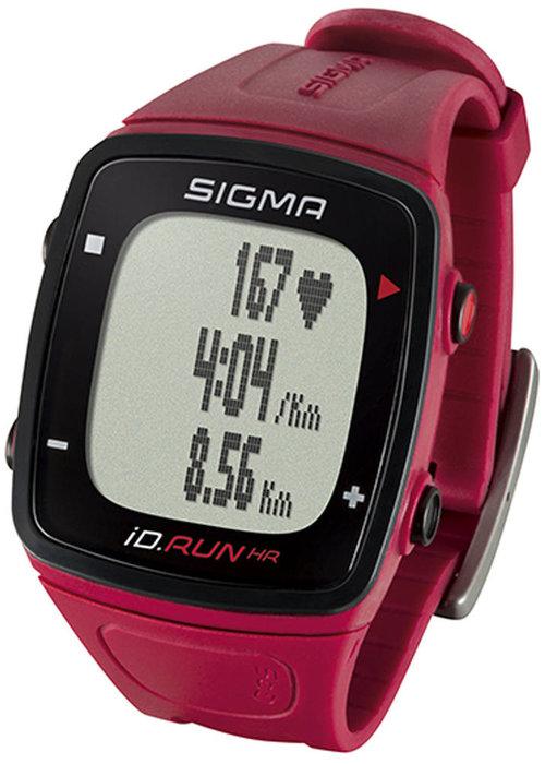 Sigma id.RUN HR sporthorloge - rood