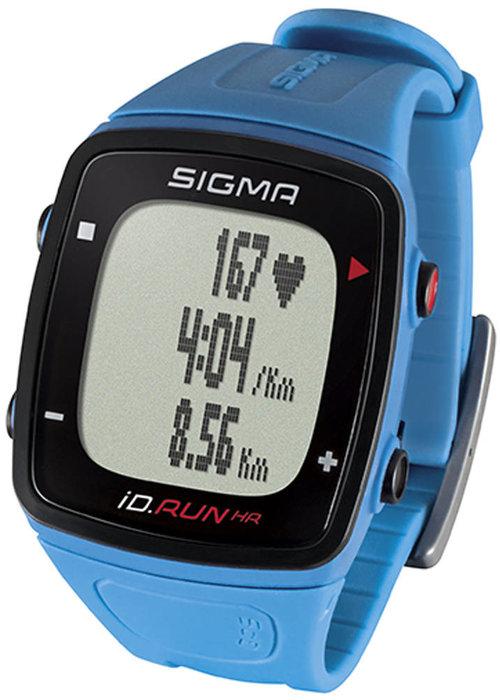 Sigma id.RUN HR sporthorloge - blauw