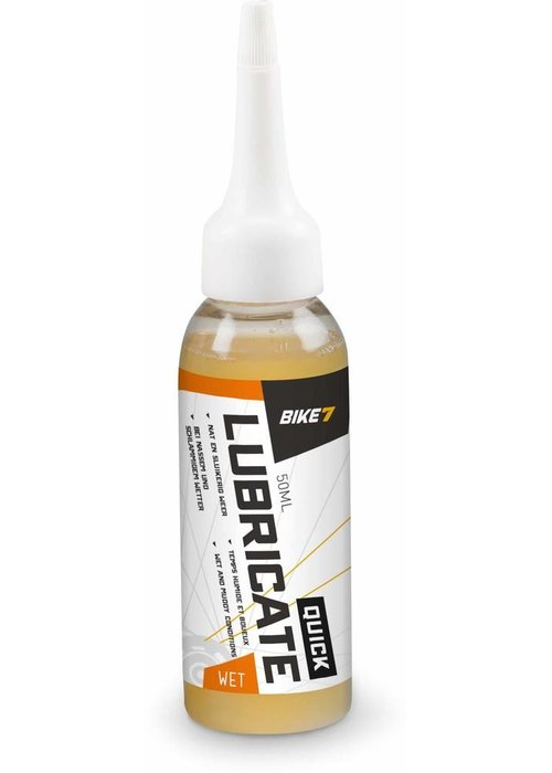 Bike7 Lubricate quick wet 50ml