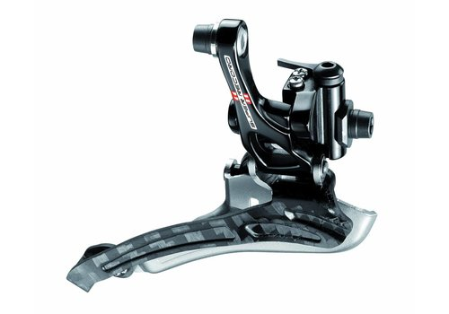 Campagnolo Super Record voorderailleur aanlas S2 systeem 2x11-speed