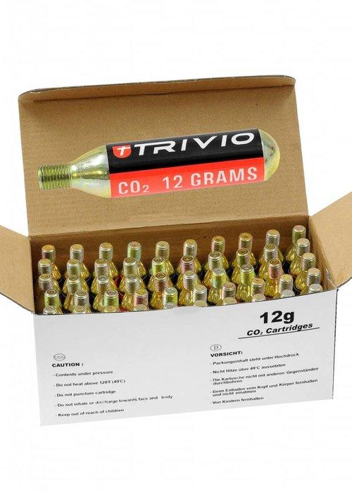 Trivio CO2 patronen 12 gram 1 box met 50 stuks