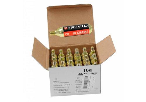 Trivio CO2 patronen 16 gram 1 box met 30 stuks