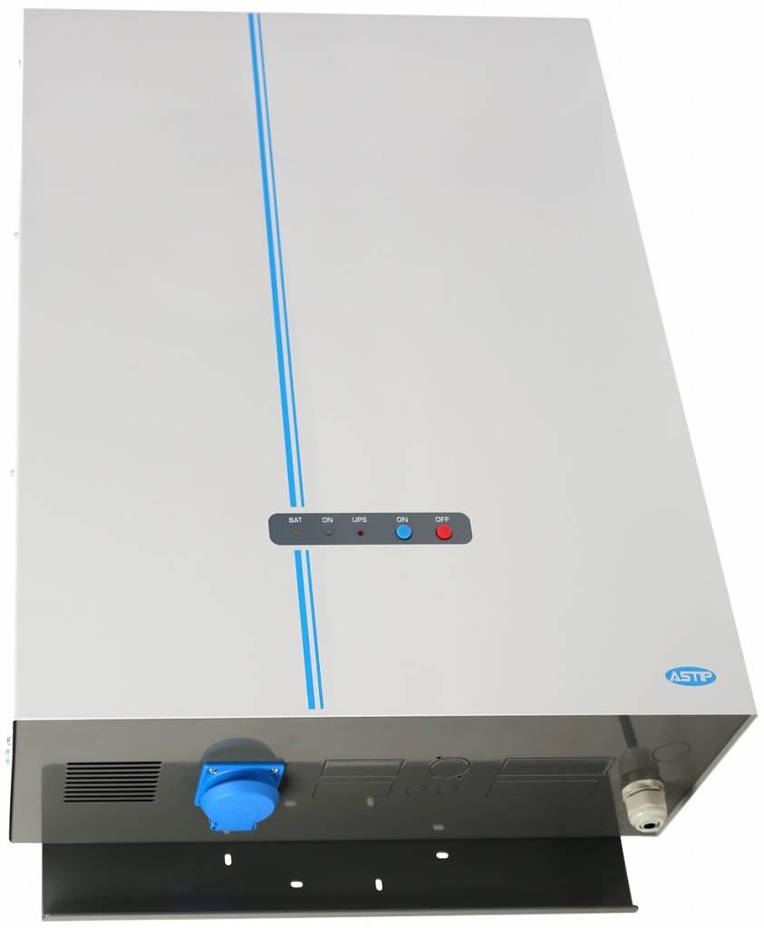 Noodstroomvoeding  230V 500VA  2,1A 16U
